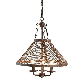 WB_L Tres Luces Colgantes de luz Vintage Industrial Viento ...