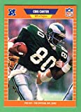 Chris Carter 1989 Pro Set Football (Premier Edition) (Eagles) (Vikings)