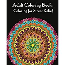 Adult coloring books :: Mandalas for Stress relief