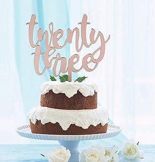 Decoración para tarta de 23 años para amor de 23 años ...