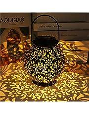 Outdoor Solar Lantern, Solar Decorative Lamp Garden Lantern, IP44 Waterproof Solar Decorative Lamp Garden Lantern