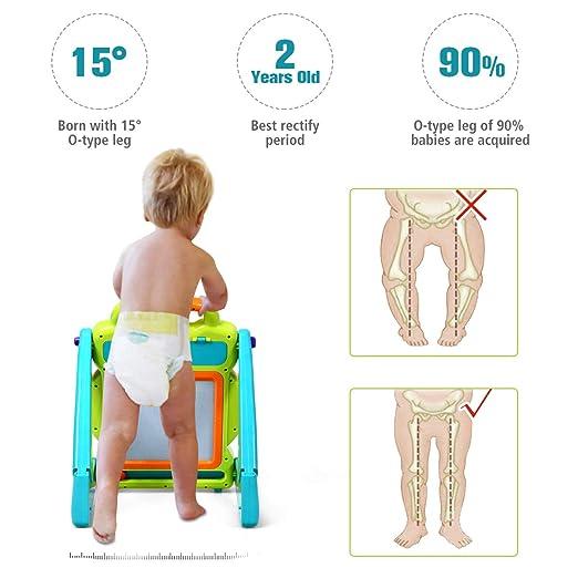 Amazon.com: BABY JOY Andador de pie para bebé, 3 en 1, tabla ...