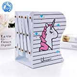 Jax & Olivia Unicorn Adjustable Bookends - Unicorn