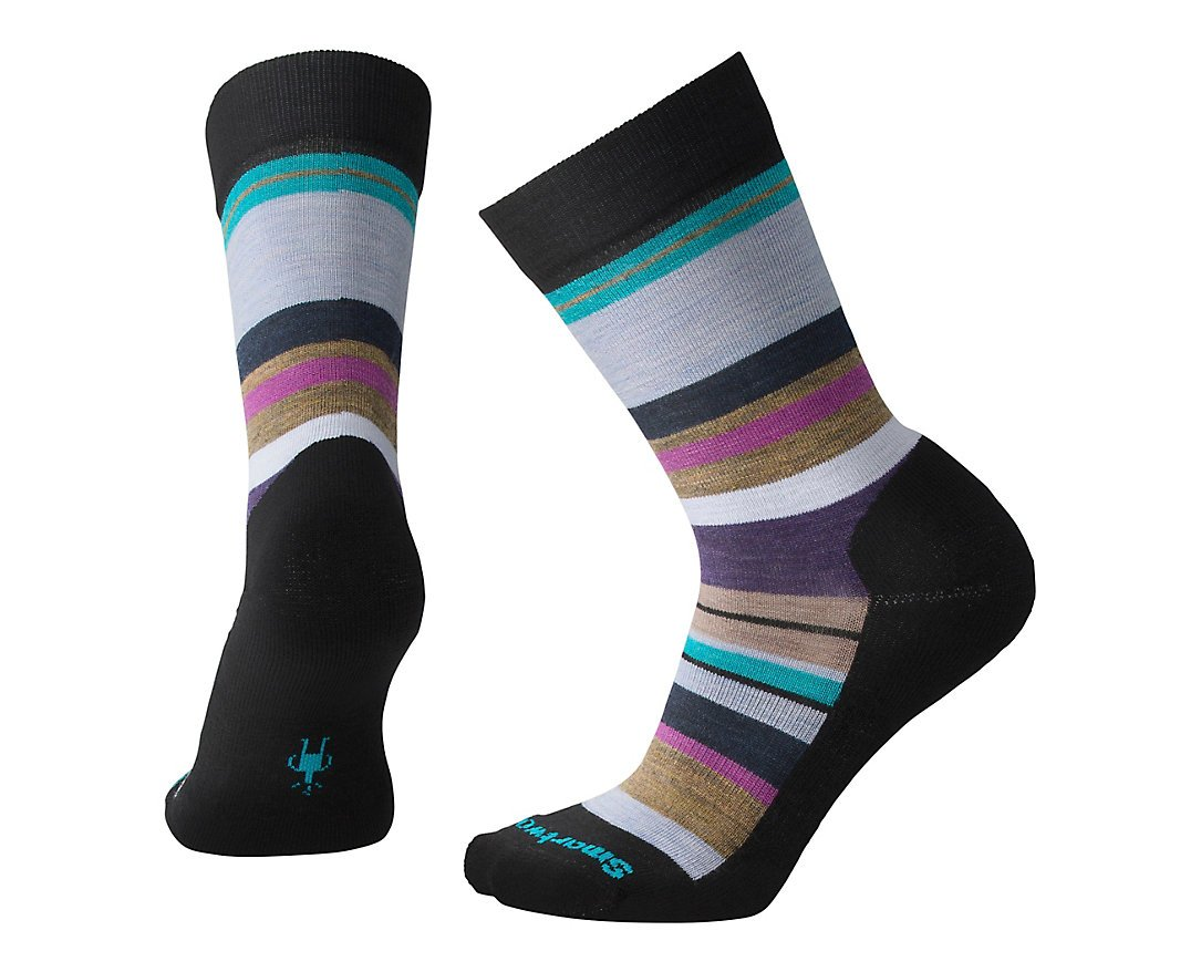 Smartwool PhD Outdoor Light Crew Socks - Women's Saturnsphere Wool Performance Sock by Smartwool