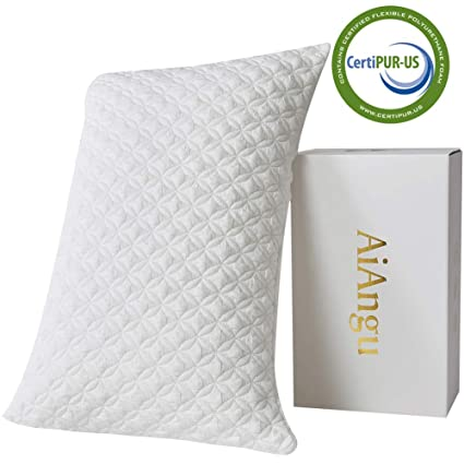 Elegant Sleep Memory Foam Bamboo Pillow