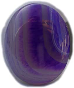 The Best Jewellery Purple Botswana Agate cabochon, 43Ct Natural Gemstone, Oval Shape Cabochon For Jewelry Making (29x23x7mm) SKU-15067