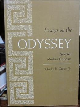 essays on the odyssey