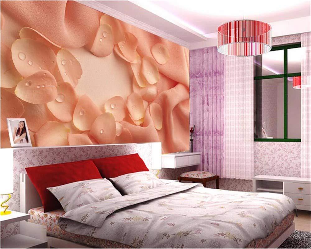 Weaeo カスタム壁紙の花弁、3D写真の壁紙壁画の寝室のリビングルーム壁の壁の壁紙3D-280X200Cm B07HCHDKPL 280X200CM 280X200CM