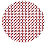 """Kwik-Cover 60-Celebration 60"""" Round Kwik-Cover-Celebration Fitted Table Cover (1 full case of 100)"""