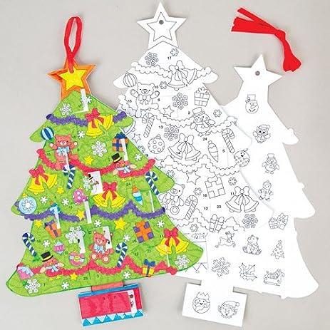 Amazon Com Christmas Tree Advent Calendars Perfect For Xmas