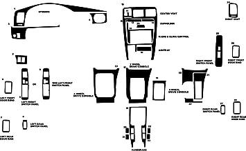 Wood Grain Mahogany Rdash Dash Kit Decal Trim for Toyota 4Runner 1996-1998