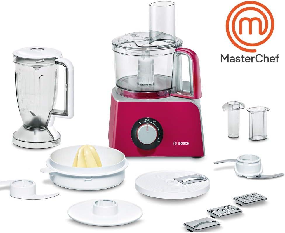 Bosch MCM42024 - Procesador de alimentos con accesorios, 800 W ...