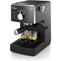 Saeco HD8423/11 Poemia Focus – Cafetera manual negro