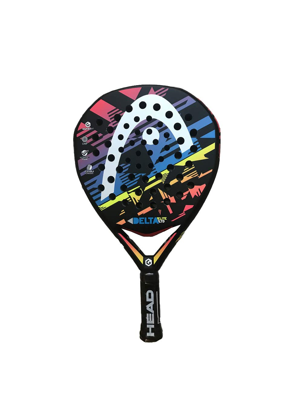 Pala de pádel GrapheneXT Delta Elite LTD Head: Amazon.es: Deportes y aire libre