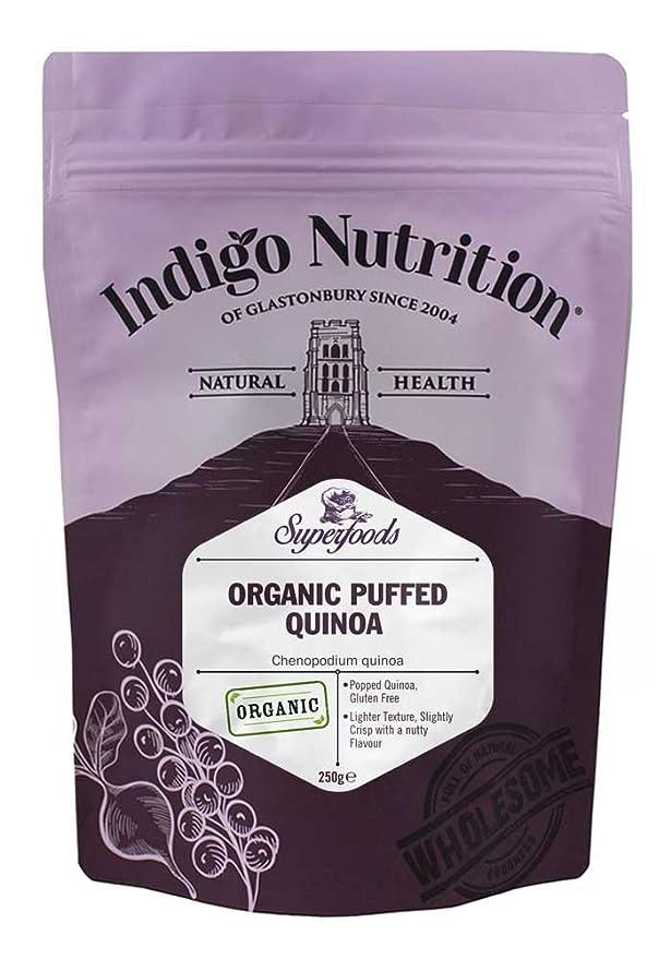 Indigo Herbs Quinoa Inflada Orgánica 250g: Amazon.es ...