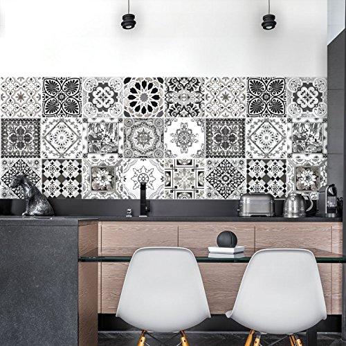 d coration murale cuisine. Black Bedroom Furniture Sets. Home Design Ideas