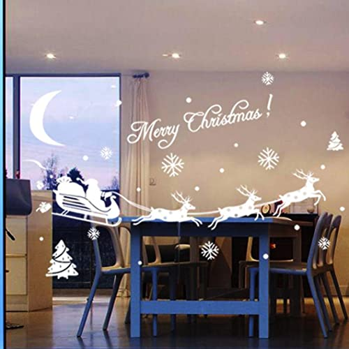 Koly® Christmas Home Shop Decor Decoration Decal Window Stickers Gift