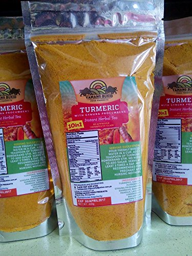 Turmeric 10-in-1 Herbal Tea (Yamang Bukid's) 400g