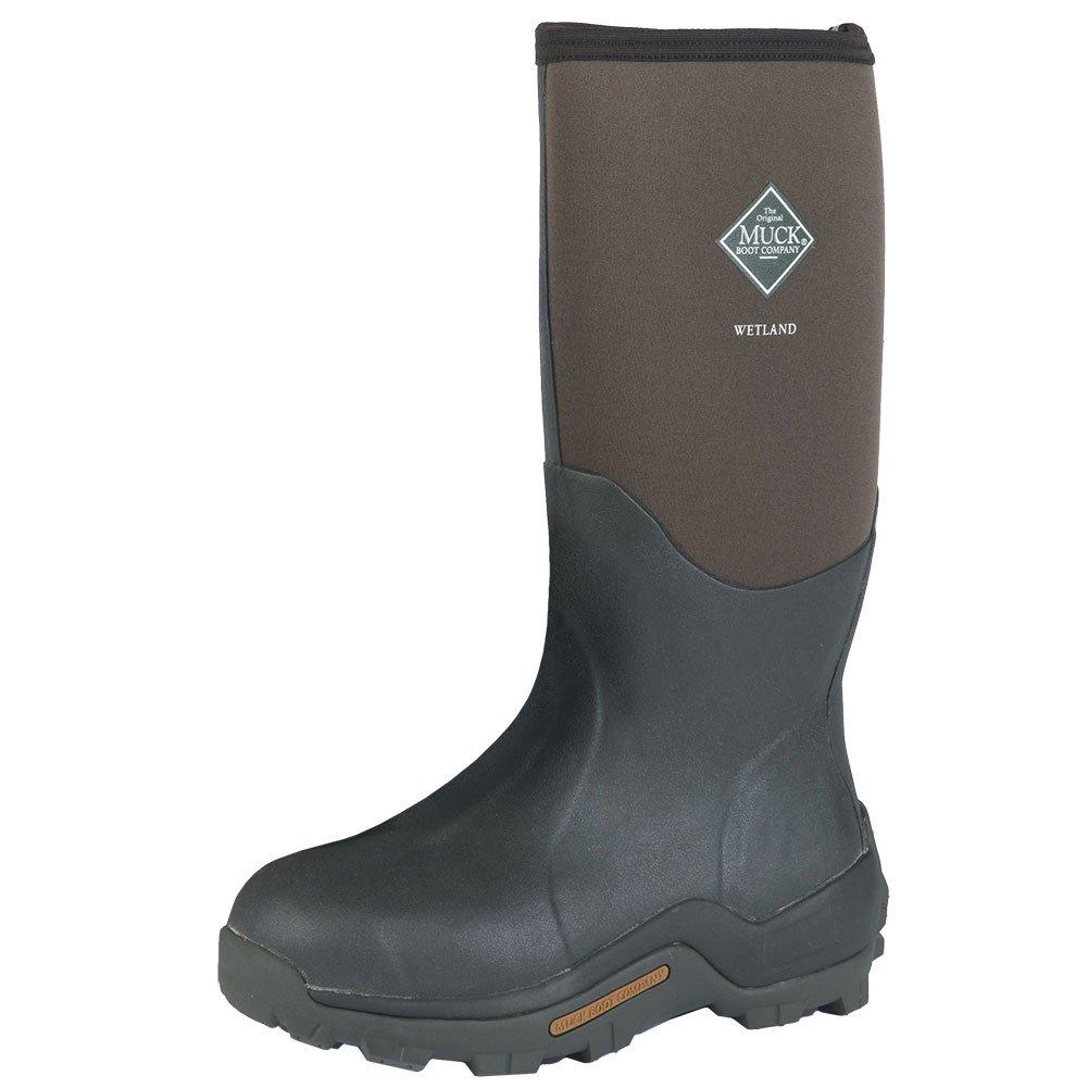 Muck Boots Mens Wetland Premium Hunting WP Winter 11 Brown WET-998K