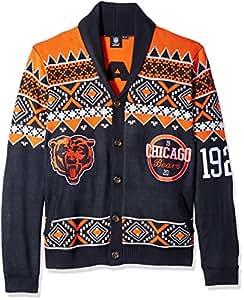 FOCO Chicago Bears 2015 Ugly Cardigan Medium