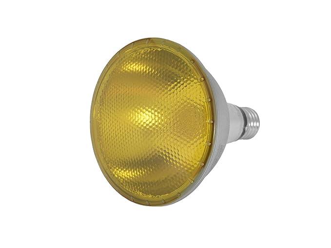 Set di 5 x led lampade par 38 230 v 15 w attacco e 27 giallo