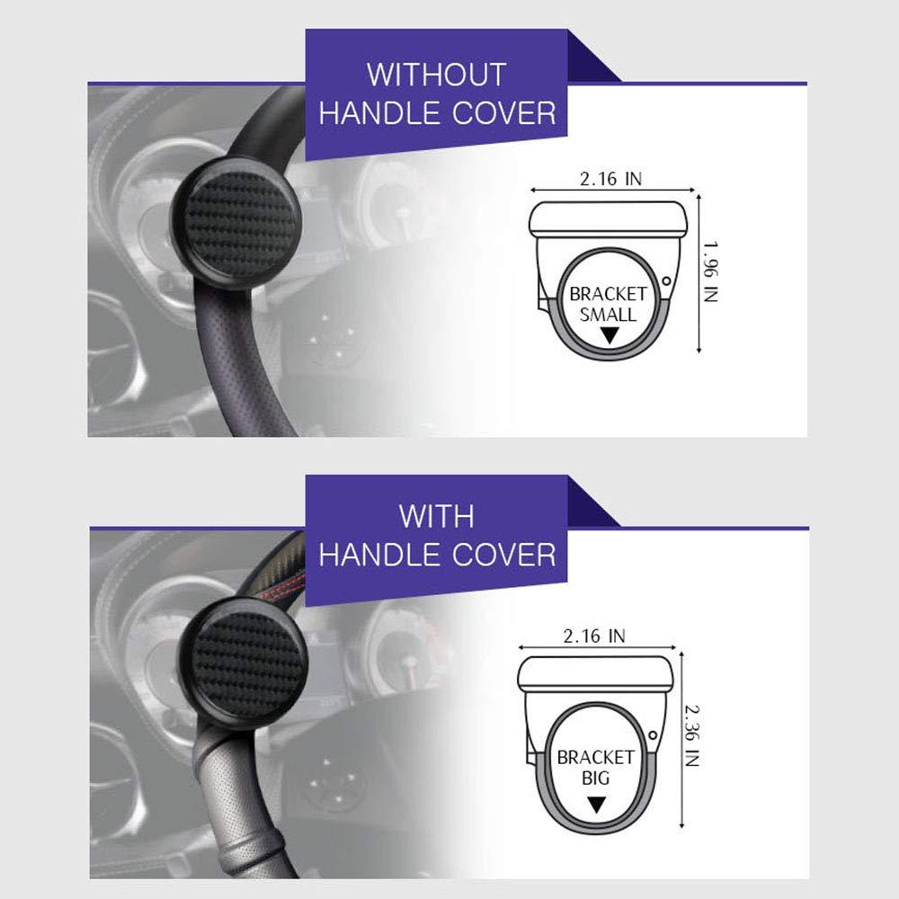 Real Carbon Mini Power Handle Carbon Steering Wheel knob Premium Quality Power Handles Hyperint 4350392512 PAVONI Steering Wheel Spinner
