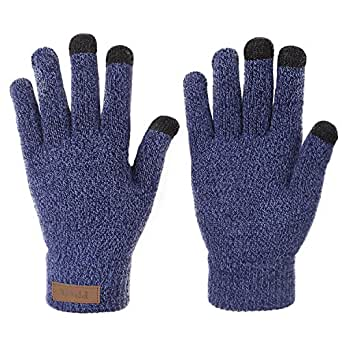 Amazon.com: Winter Touchscreen Knit Gloves Best Thick