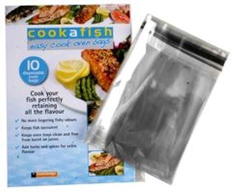 toastabags Cookafish – 10 bolsas desechables horno Easy Cook
