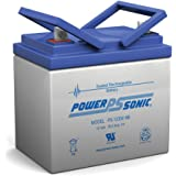 Powersonic 35AH 12VOLT DEEP-CYCLE SEALED LEAD ACID RECHARGEABLE BATTERY 35AMP HOUR 12V