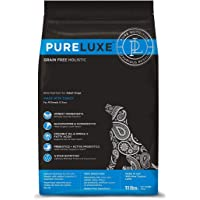 PURELUXE Premium Dog Food   Natural Holistic Grain Free, Gluten Free Elite Pet Nutrition for Adult Dogs - Turkey (400 G)