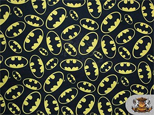 100% Cotton Print Fabric Batman Logo Packed / 45
