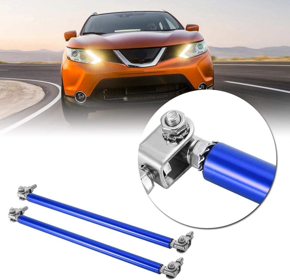 Blue Aramox Bumper Lip Strut,1 Pair 20cm Car Front Bumper Support Bar Strut Car Modification Support Rod