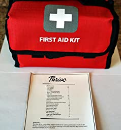 Amazon.com: First Aid Kit –175 Pieces – Bag. Packed with