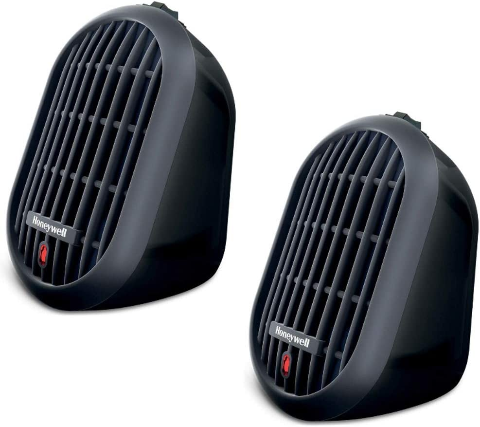2 Personal Heaters for room, office, school, dorm, shop. HeatBud Ceramic by Honeywell