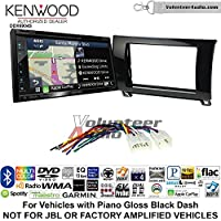 Kenwood Excelon DNX694S Double Din Radio Install Kit with GPS Navigation System Android Auto Apple CarPlay Fits 2007-2013 Non Amplified Toyota Tundra, 2008-2013 Sequoia (Metallic Gray)