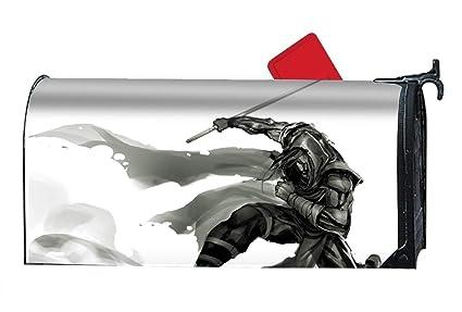Amazon.com: XW-FGF Drawn-Ninja-Dark - Mailbox Makeover Cover ...