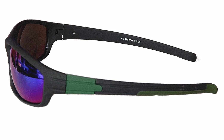 Gil SSC Sportbrille Sonnenbrille Grau schwarz verspiegelt Fahrradbrille Snowboardbrille Motorradbrille M 16