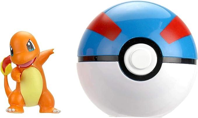 Pokemon Clip /'n/' Go Pikachu /& Great Ball Brand New *
