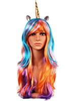YallFairy Unicorn Wig - Unicorn Horn and Ears Wig - Fits Kids, Girls,Teens and Adults With Box Gift