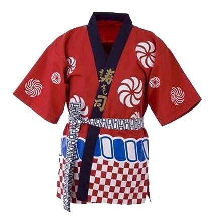 Ropa de trabajo unisex Ropa de chef japonesa Chaqueta de ...