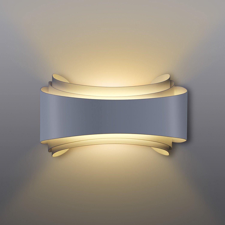 Albrillo LED Wall Lights For Living Room 10W Night Lights Warm White, 800  Lumen For Part 71