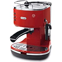 Delonghi ECO311.R Icona Eco Machines à Café, 1100 W, Rouge