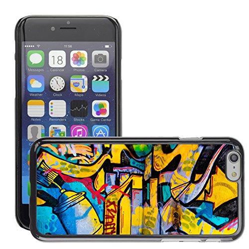 "Premio Sottile Slim Cassa Custodia Case Cover Shell // V00002326 fond Grafitti // Apple iPhone 6 6S 6G 4.7"""