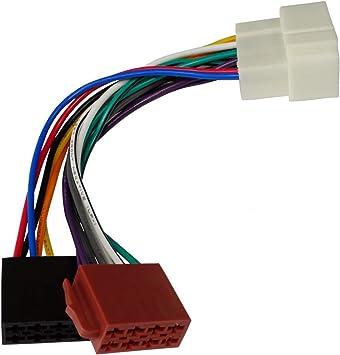 Aerzetix C1997 Adapter Kabel Radioadapter Für Original Autoradio Stecker E2 Iso Für Auto Auto