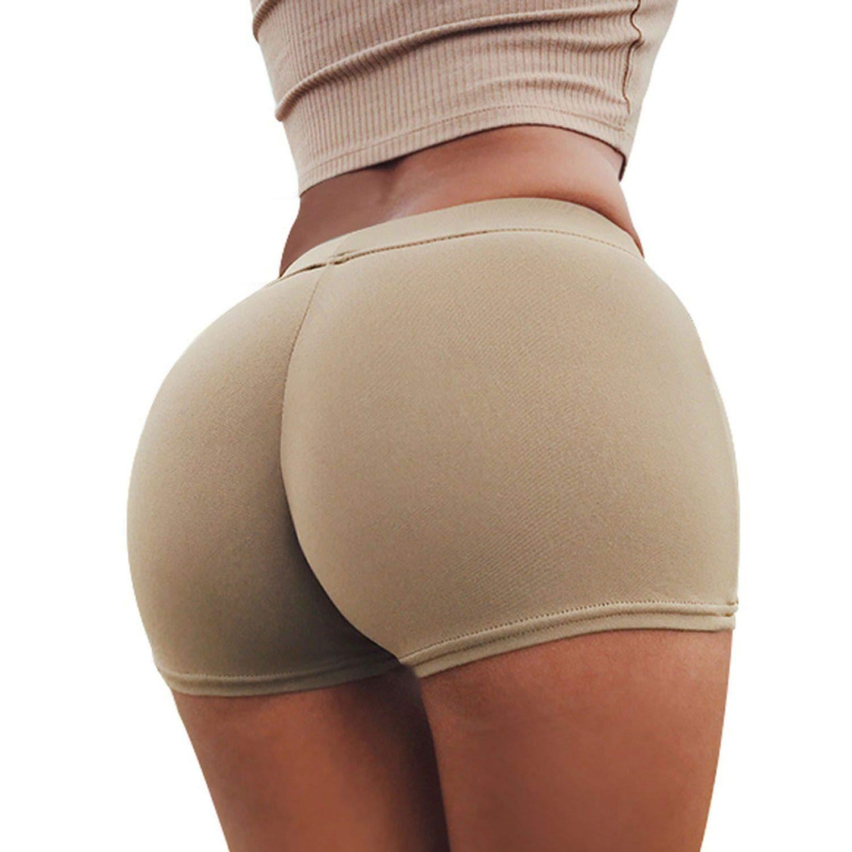 Amazon.com: Our ideas-yoga-leggings Short Sexy Elastic ...