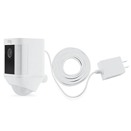 Amazon.com : Weatherproof Integrated Charger for Ring Spotlight Cam ...