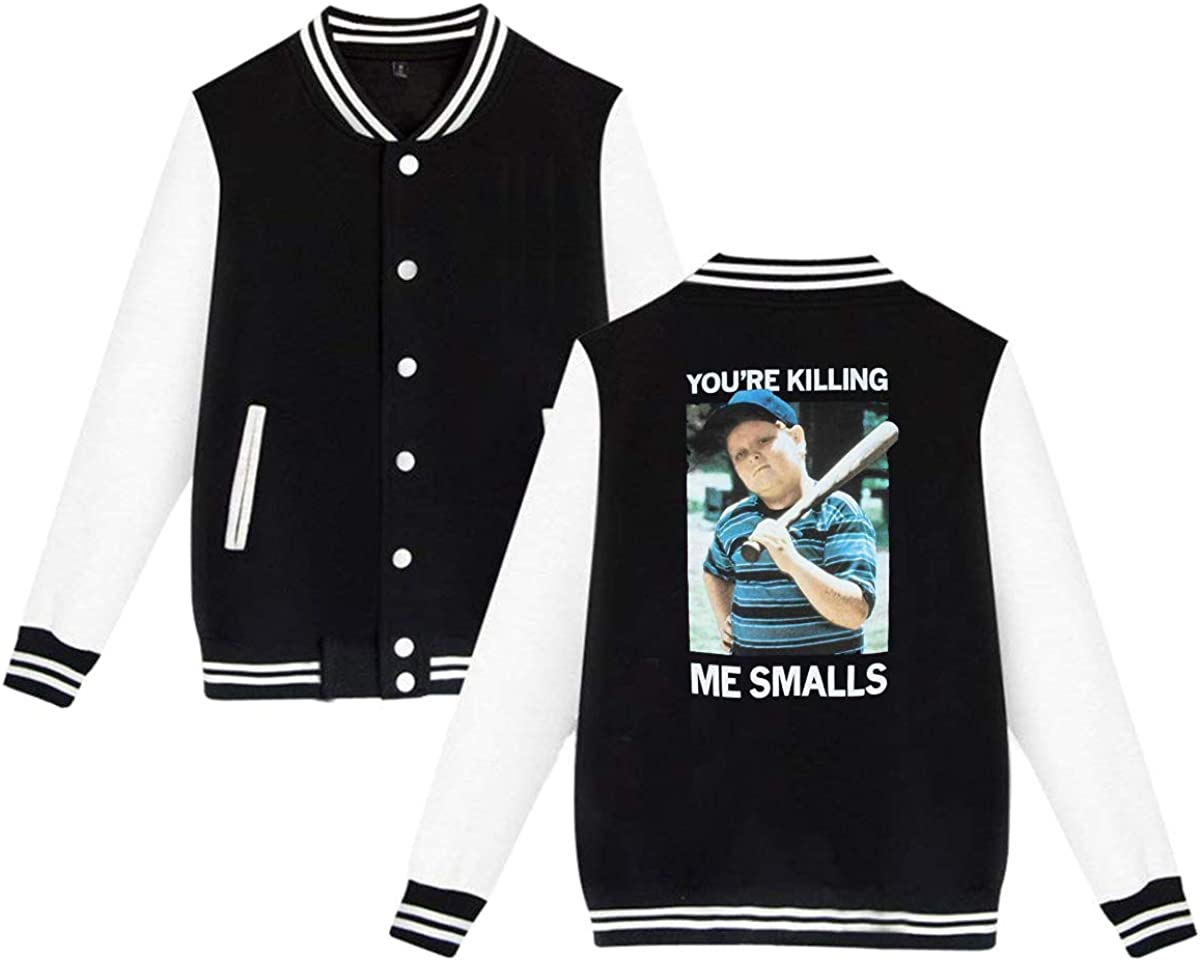 CZXASDFVZX Youre Killing Me Smalls Unisex Baseball Jacket Varsity Jacket