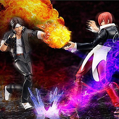 Game, Fun, Figma Game KOF The King Of Fighters SP-094 Kyo Kusanagi & SP-095 Iori Yagami BJD PVC Action Figure Model Toys, Toy, Play