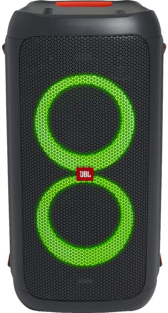 JBL Partybox 100 High Power Portable Wireless Bluetooth Audio System with Battery - Black (Renewed)