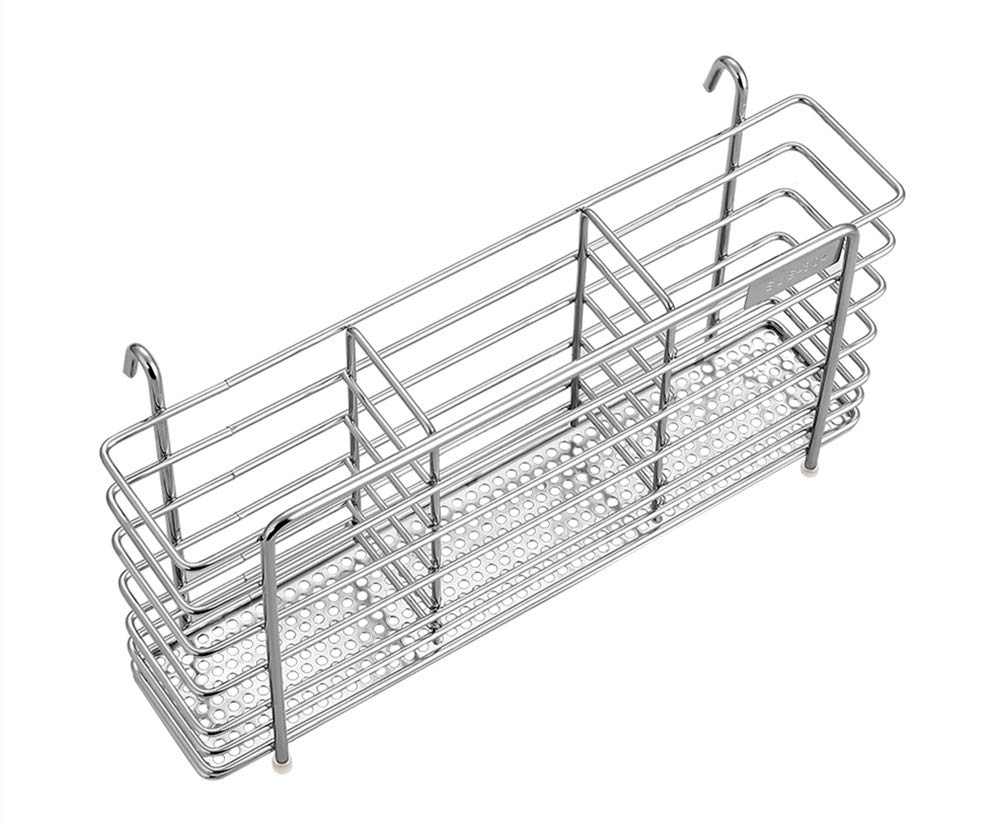 Adjustable Over Sink Dish Drying Rack Stainless Steel Dish Drainer, On Counter or In Sink Dish Rack, Deep and Large- Rustproof KESO HOME KESO001US